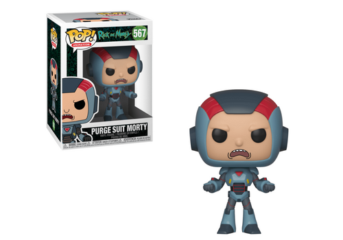Figurka Rick and Morty POP! - Purge Suit Morty