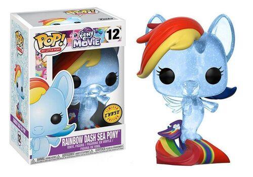 Figurka My Little Pony Movie POP! - Rainbow Dash Sea Pony (Chase Limited Edition)