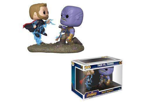 Diorama Marvel POP! Movie Moments - Thor & Thanos