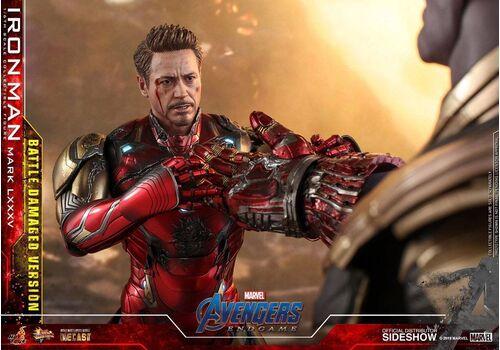 Figurka Avengers: Endgame MMS Diecast 1/6 Iron Man Mark LXXXV Battle Damaged Ver.