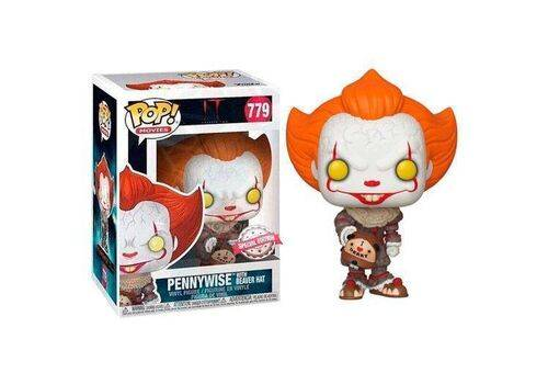 Figurka IT Chapter 2 POP! - Pennywise with Beaver Hat (779)