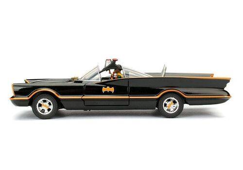 Model samochodu Batman Classic TV Series Diecast 1/24 1966 Batmobile (Wraz z figurką Batman)