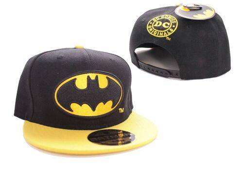 Czapka z daszkiem Batman - Black Bat Logo