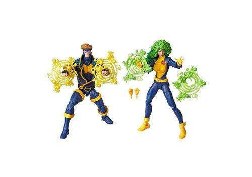 Zestaw figurek Marvel Legends 80th Anniversary - X-Men Havok & Polaris