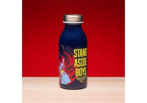 Butelka ze stali nierdzewnej Wonder Woman - Stand Aside Boys