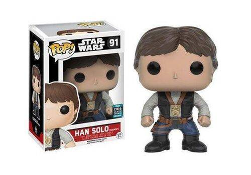 Figurka Star Wars POP! - Han Solo Ceremony (2016 Celebration)