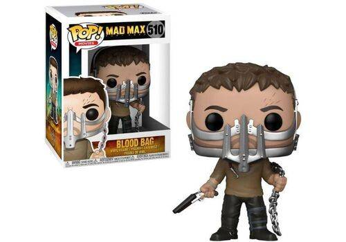 Figurka Mad Max Fury Road POP! - Max with Cage Mask (Blood Bag) LE