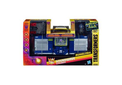 Figurka Transformers Bumblebee Greatest Hits - Soundwave & Doombox, zdjęcie 4