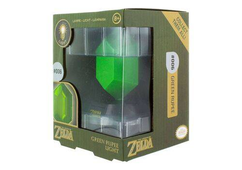 Lampka Legend of Zelda - Light Green Rupee