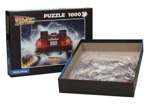 Puzzle Back to the Future (1000 elementów) - Outatime