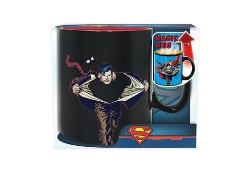 Duży kubek zmieniający kolor DC Comics - Superman (460 ml)Duży kubek zmieniający kolor DC Comics - Superman (460 ml)