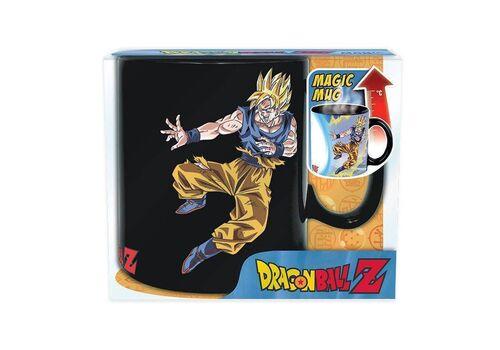 Duży kubek zmieniający kolor Dragon Ball Z - Goku VS Buu (460 ml)