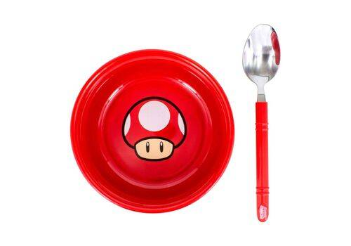 Zestaw śniadaniowy Super Mario - Power-Up MushroomZestaw śniadaniowy Super Mario - Power-Up Mushroom