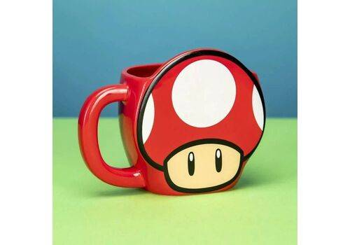 Kubek Super Mario - Power-Up Mushroom