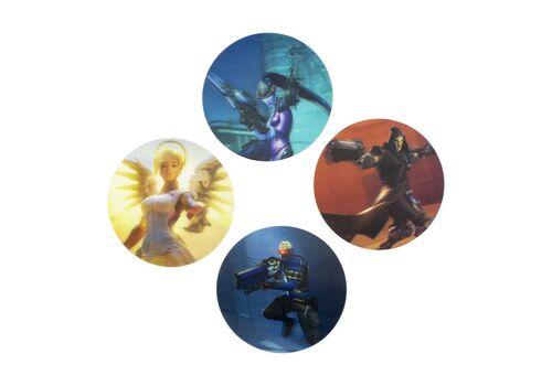 Podstawki Overwatch (zestaw czterech)