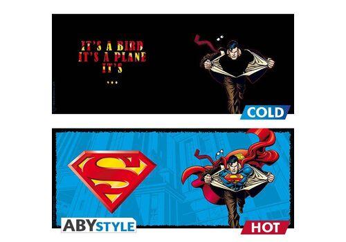 Duży kubek zmieniający kolor DC Comics - Superman (460 ml)