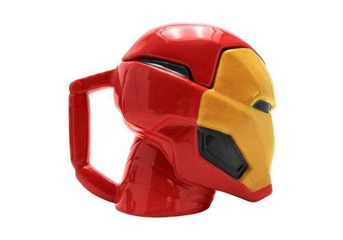 Kubek ceramiczny z pokrywką Marvel - Iron Man (450 ml)Kubek ceramiczny z pokrywką Marvel - Iron Man (450 ml)