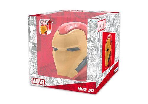 Kubek ceramiczny z pokrywką Marvel - Iron Man (450 ml)