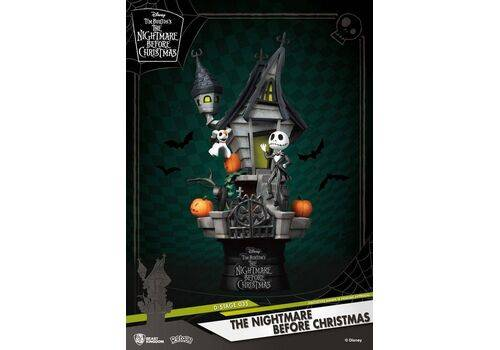 Figurka Nightmare before Christmas D-Stage - Diorama Jack's Haunted House