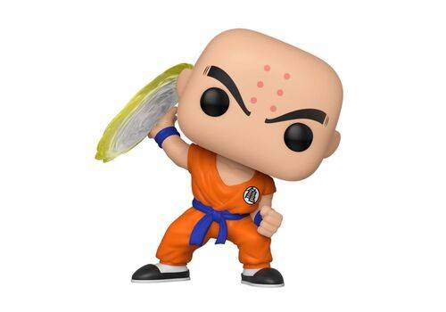 Figurka Dragon Ball Z POP! Krillin w/ Destructo Disc