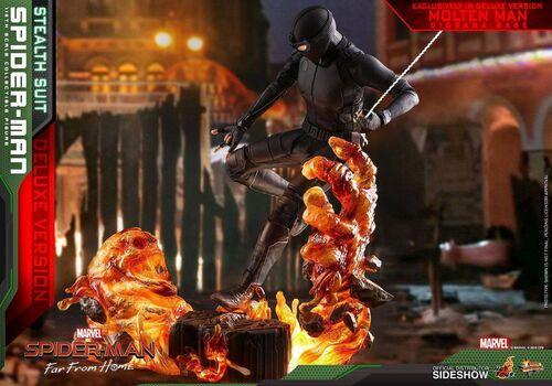Figurka Spider-Man: Far From Home 1/6 Spider-Man (Stealth Suit) Deluxe Version, zdjęcie 4