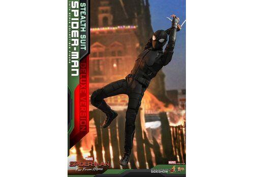 Figurka Spider-Man: Far From Home 1/6 Spider-Man (Stealth Suit) Deluxe Version, zdjęcie 11
