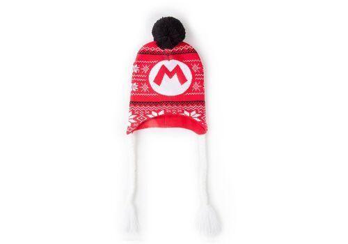 Czapka z pomponami Super Mario - Badge