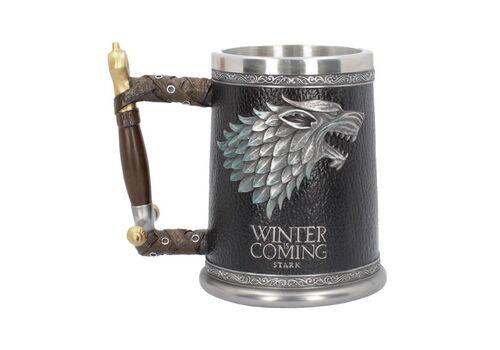 Kufel 3D Gra o Tron - Stark Winter is Coming