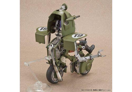 Figurka do złożenia Dragon Ball - Bulma No.19 Motorcycle