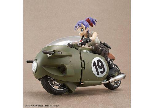 Figurka do złożenia Dragon Ball - Bulma No.19 MotorcycleFigurka do złożenia Dragon Ball - Bulma No.19 Motorcycle