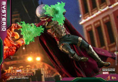 Figurka Spider-Man: Far From Home Movie Masterpiece 1/6 Mysterio, zdjęcie 2