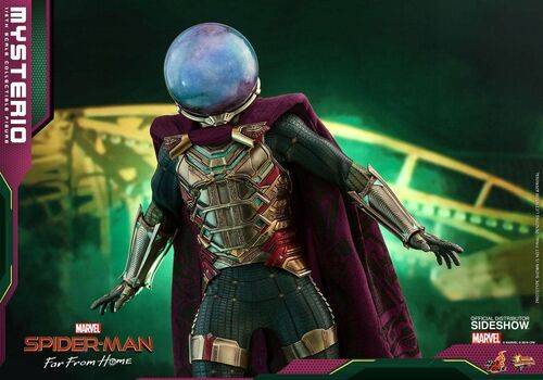 Figurka Spider-Man: Far From Home Movie Masterpiece 1/6 Mysterio, zdjęcie 10