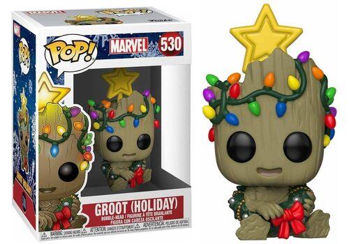 Figurka Marvel Holiday POP! Groot