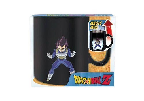 Duży kubek zmieniający kolor Dragon Ball Z - Vegeta (460 ml)