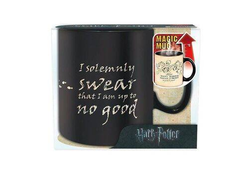 Duży kubek zmieniający kolor Harry Potter - Mapa Huncwotów (460 ml)