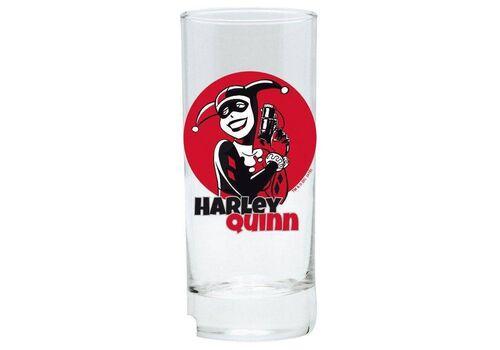 Szklanka DC Comics - Harley Quinn (290 ml)