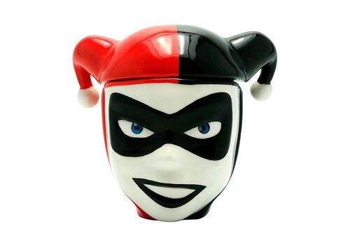 Kubek ceramiczny z pokrywką DC Comics - Harley Quinn (300 ml)