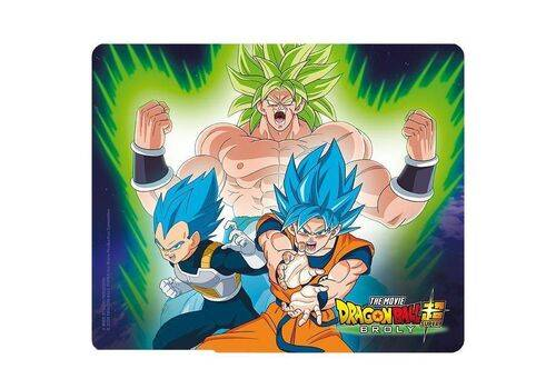 Podkładka pod mysz Dragon Ball Super Broly - Broly VS Goku & Vegeta, zdjęcie 1