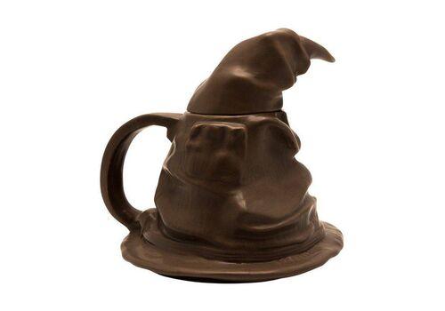 Kubek ceramiczny z pokrywką Harry Potter 3D - Sorting Hat (300 ml)