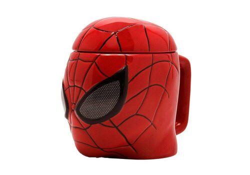 Kubek ceramiczny z pokrywką Marvel - Spider-Man (350 ml), zdjęcie 1
