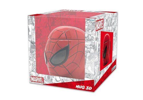 Kubek ceramiczny z pokrywką Marvel - Spider-Man (350 ml)
