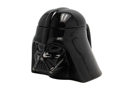 Kubek ceramiczny z pokrywką Star Wars 3D - Darth Vader (350 ml), zdjęcie 1