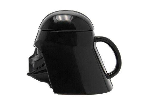 Kubek ceramiczny z pokrywką Star Wars 3D - Darth Vader (350 ml), zdjęcie 2