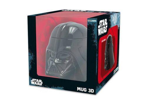 Kubek ceramiczny z pokrywką Star Wars 3D - Darth Vader (350 ml), zdjęcie 4