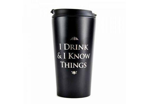 Kubek podróżny Gra o Tron - I Drink & I Know Things