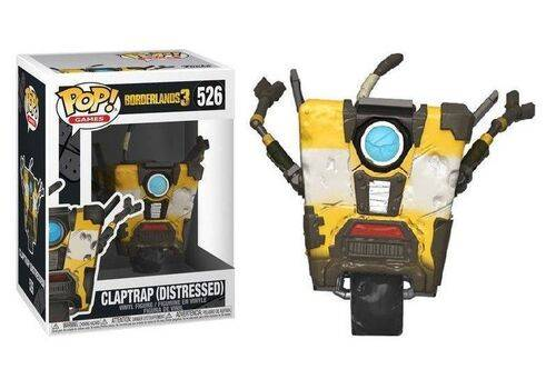 Figurka Borderlands 3 POP! - Claptrap Distressed (526)