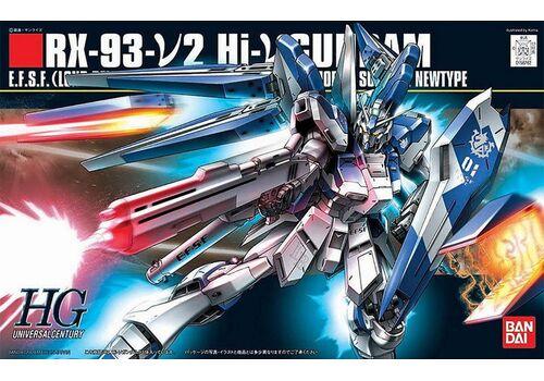Model figurki GUNDAM HGUC 1/144 RX-93-V2 HI NU Gundam, zdjęcie 7