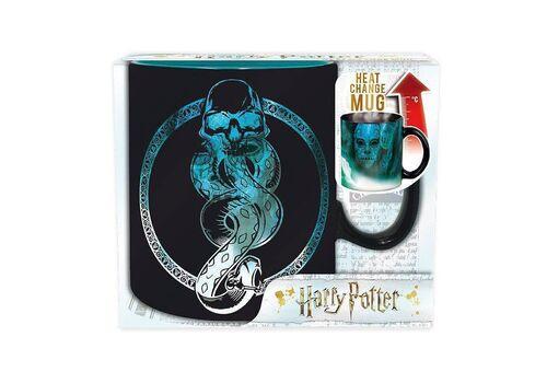 Duży kubek zmieniający kolor Harry Potter - Mroczny Znak / Voldemort (460 ml)