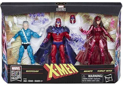 Zestaw figurek Marvel Legends - Family Matters (Quicksilver, Magneto, Scarlet Witch), zdjęcie 1