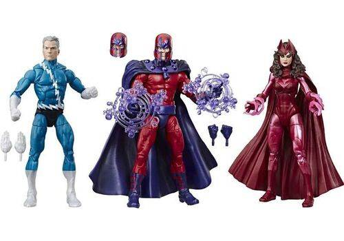 Zestaw figurek Marvel Legends - Family Matters (Quicksilver, Magneto, Scarlet Witch), zdjęcie 2
